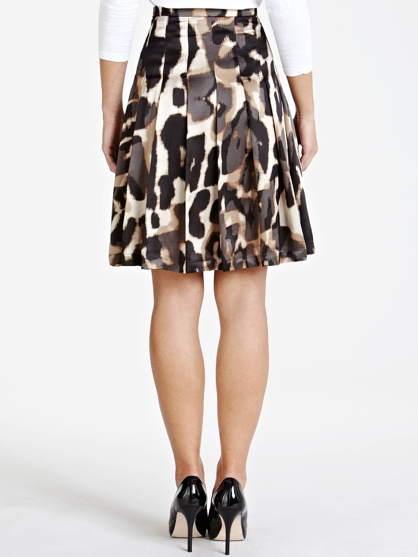 Buy Weekend by MaxMara Abstract Animal Print Skirt, Camel, 10 Online at johnlewis.com