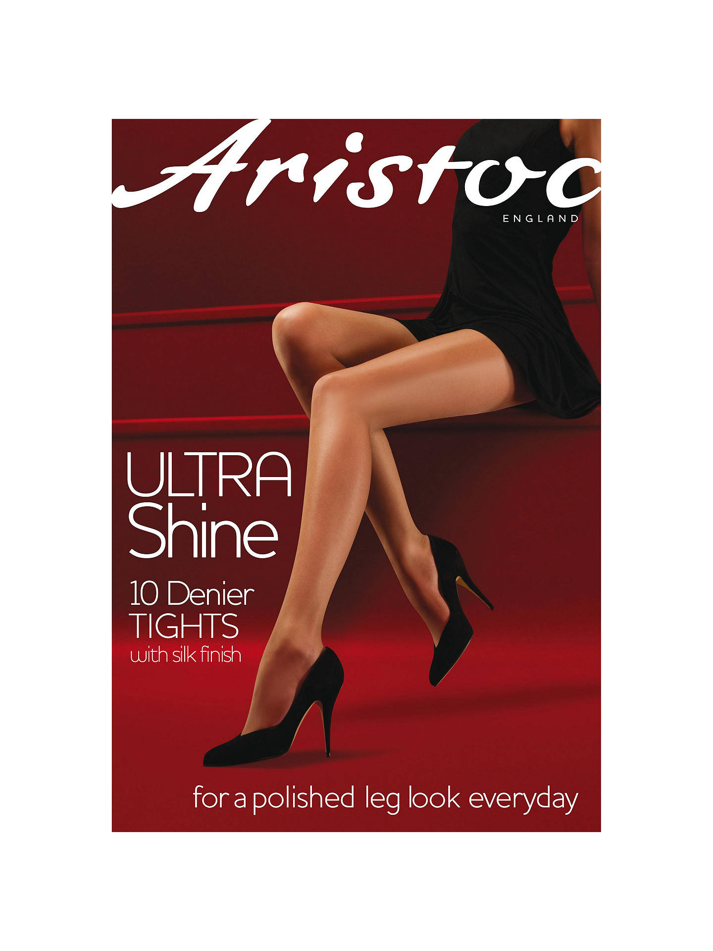 Buy Aristoc 10 Denier Ultra Shine Tights, Nude, S Online at johnlewis.com
