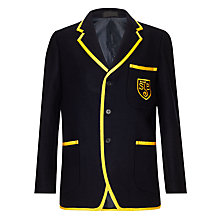 Buy St John's Priory Unisex Blazer, Navy Blue Online at johnlewis.com