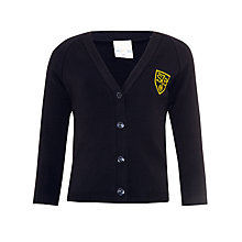 Buy St John's Priory Girls' Cardigan, Navy Online at johnlewis.com