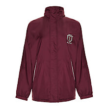 Buy Great Ballard School Pre Prep Unisex Hooded Jacket, Maroon Online at johnlewis.com