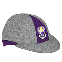 Buy Rudston Preparatory School Boys' Cap, Grey/Purple Online at johnlewis.com