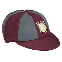 Buy Woodhill School Boys Cap, Maroon/Grey Online at johnlewis.com
