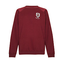 Buy Great Ballard School Unisex Sweatshirt, Maroon Online at johnlewis.com