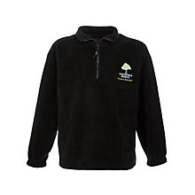 Buy Whitefield School, an Academy Fleece, Black Online at johnlewis.com