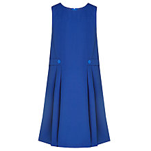 Buy Milverton House School Girls' Pinafore, Royal Blue Online at johnlewis.com