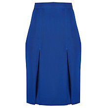 Buy Milverton House School Girls' Skirt, Royal Blue Online at johnlewis.com