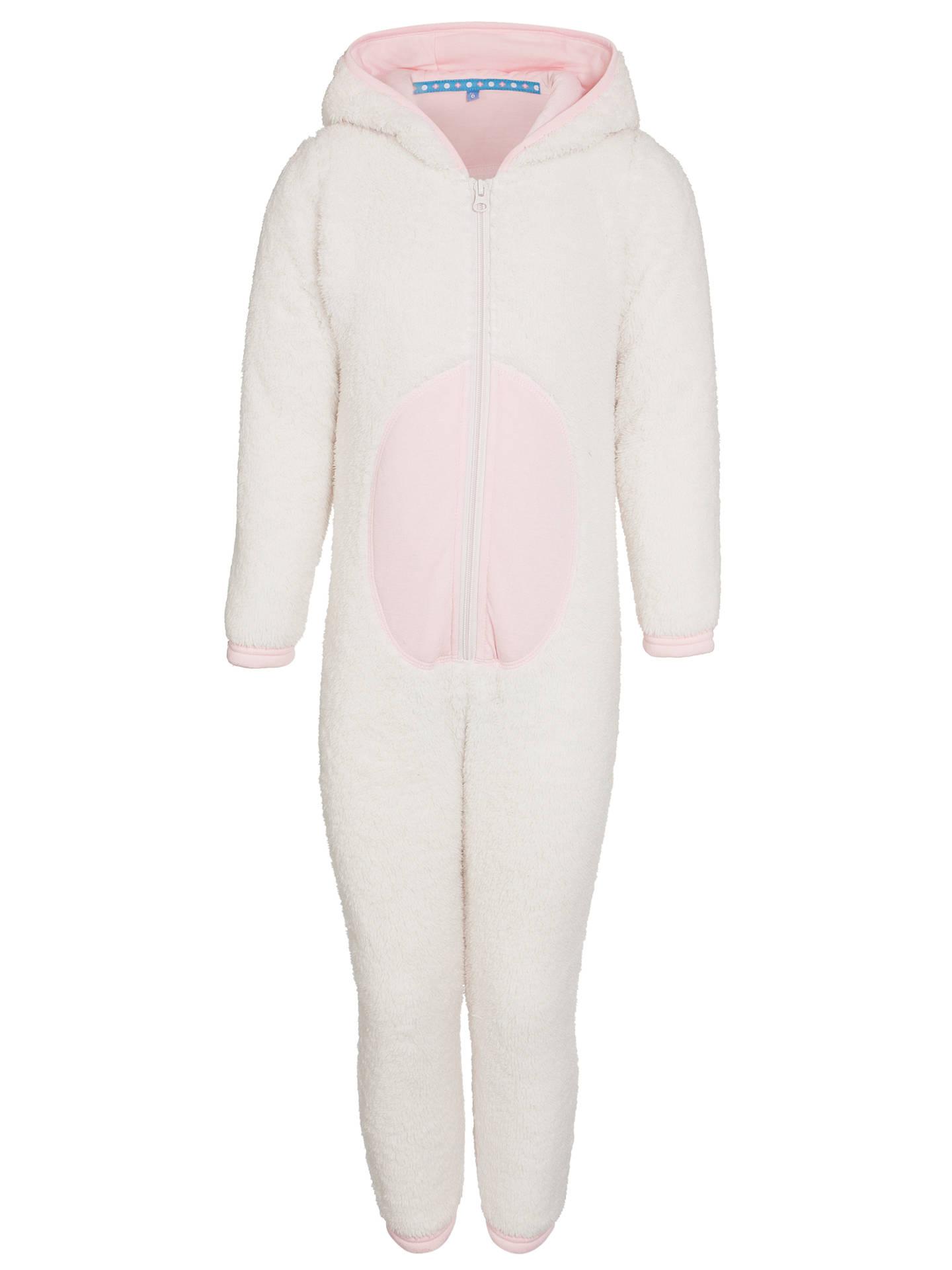3dd8ad265 John Lewis Girl Rabbit Fleece Onesie