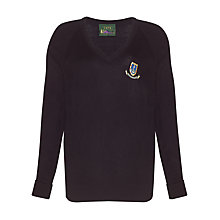 Buy St Clement Danes Secondary School Jumper, Navy Online at johnlewis.com