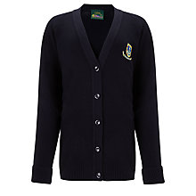 Buy St Clement Danes Secondary School Cardigan, Navy Online at johnlewis.com