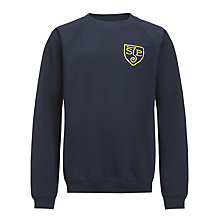 Buy St John's Priory Unisex Sweatshirt, Navy Blue Online at johnlewis.com