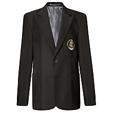 Buy Davenant Foundation School Boys' Blazer, Black Online at johnlewis.com