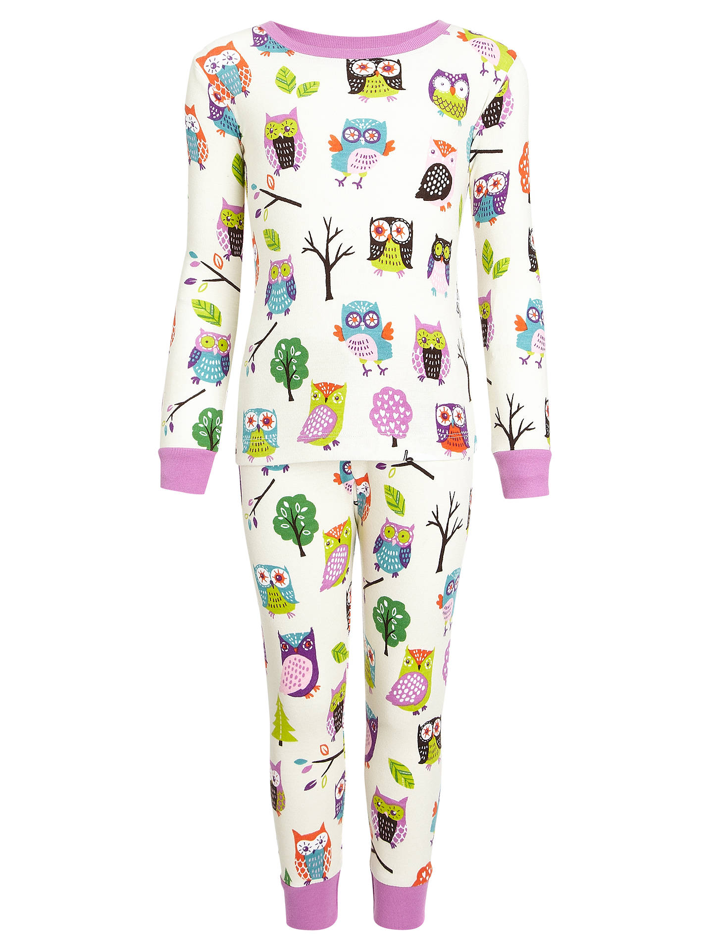 3e2cb1d1df2d Buy Hatley Girls  Party Owls Pyjamas
