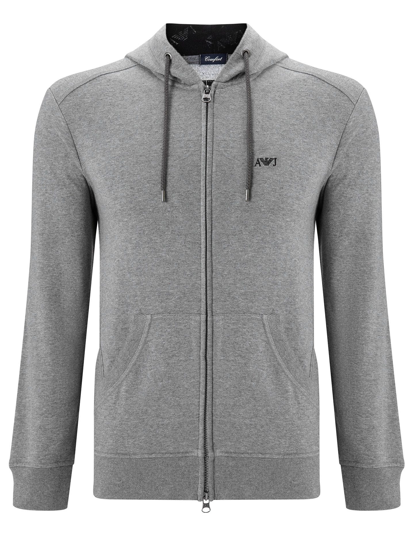 554367475f76 Buy Armani Jeans Small Logo Zip Hoodie