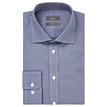Buy John Lewis Houndstooth Regular Fit Shirt, Navy Online at johnlewis.com