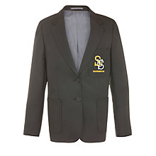 Buy Sharnbrook Upper School Girls' Blazer, Black Online at johnlewis.com
