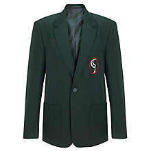 Buy Birchwood High School Boys' Blazer, Green Online at johnlewis.com