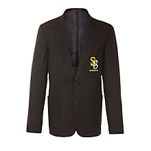 Buy Sharnbrook Upper School Boys' Blazer, Black Online at johnlewis.com