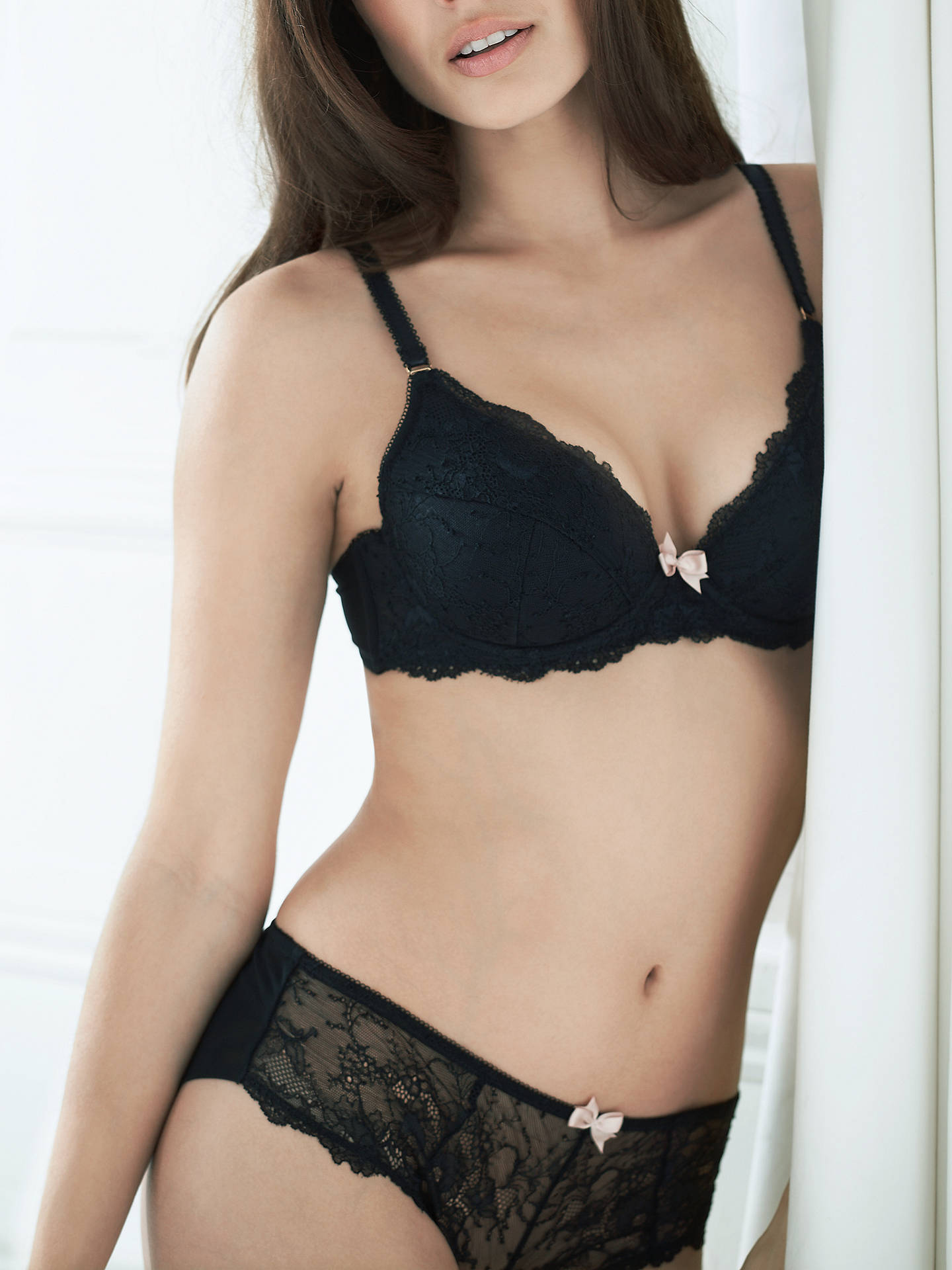 4570b2f77ac53 BuyCOLLECTION by John Lewis Genevieve Lace Plunge Bra
