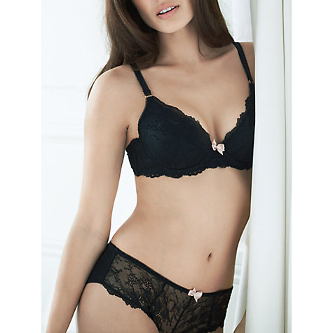 Buy COLLECTION by John Lewis Genevieve Lace Briefs, Black Online at johnlewis.com