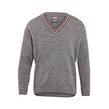 Buy Great Ballard School Boys' Jumper, Grey Online at johnlewis.com