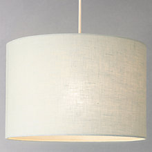 Ceiling lamp shades furniture lights john lewis buy john lewis samantha drum linen lampshade online at johnlewis aloadofball