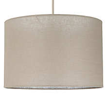 Buy John Lewis Samantha Drum Shade, 45cm Online at johnlewis.com