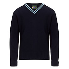 Buy Sacred Heart School Unisex Jumper, Navy Online at johnlewis.com