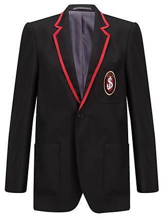 St Joseph's College Boy's Blazer, Black