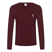 Buy Birchwood High School Unisex Jumper, Maroon Online at johnlewis.com