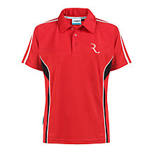 Buy The Red Maids' School PE Polo Shirt, Red/Multi Online at johnlewis.com