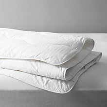 Buy John Lewis Synthetic Collection Breathable Microfibre Duvet, 2.5 Tog Online at johnlewis.com