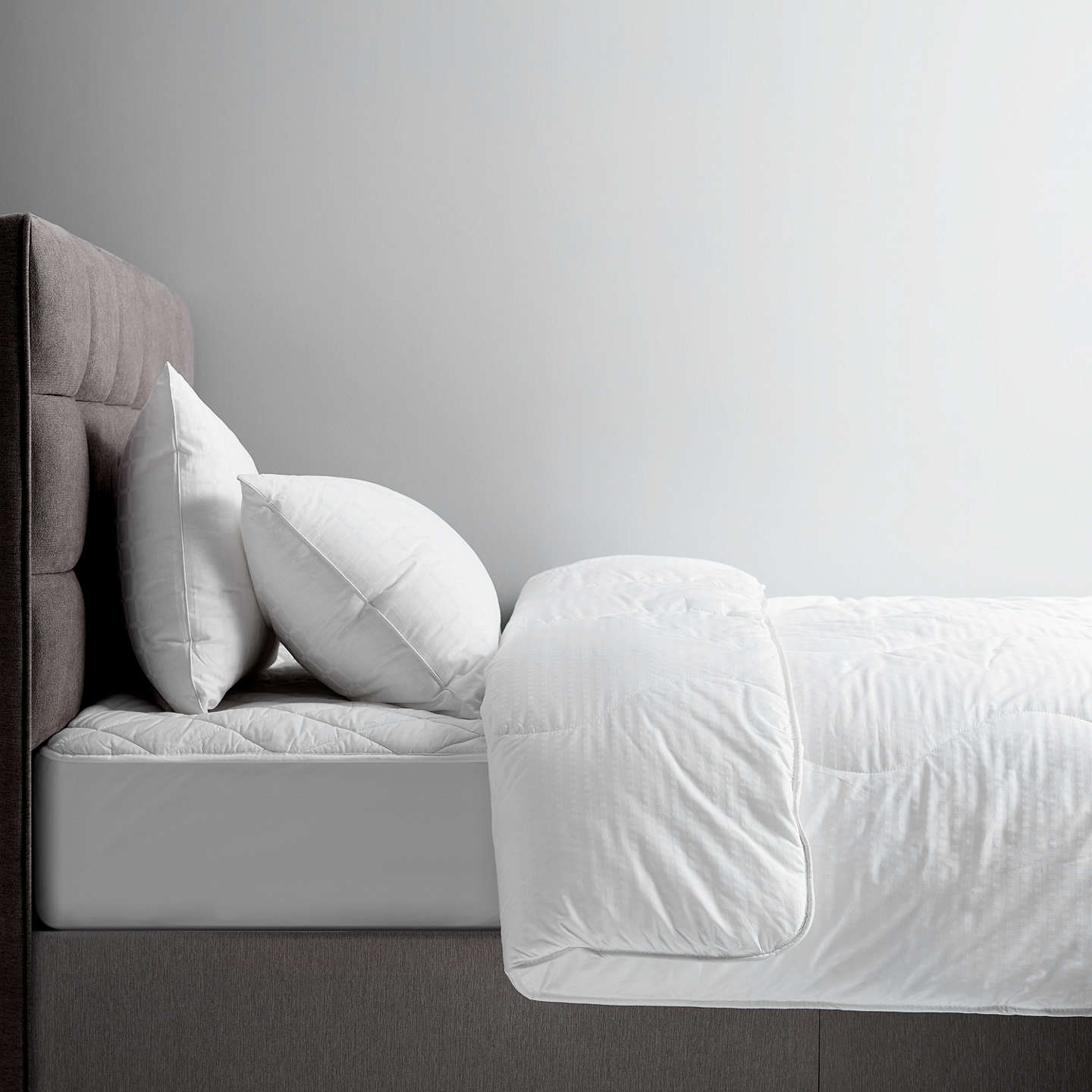 BuyJohn Lewis Synthetic Collection Breathable Microfibre Duvet, 2.5 Tog, Super King Online at johnlewis.com