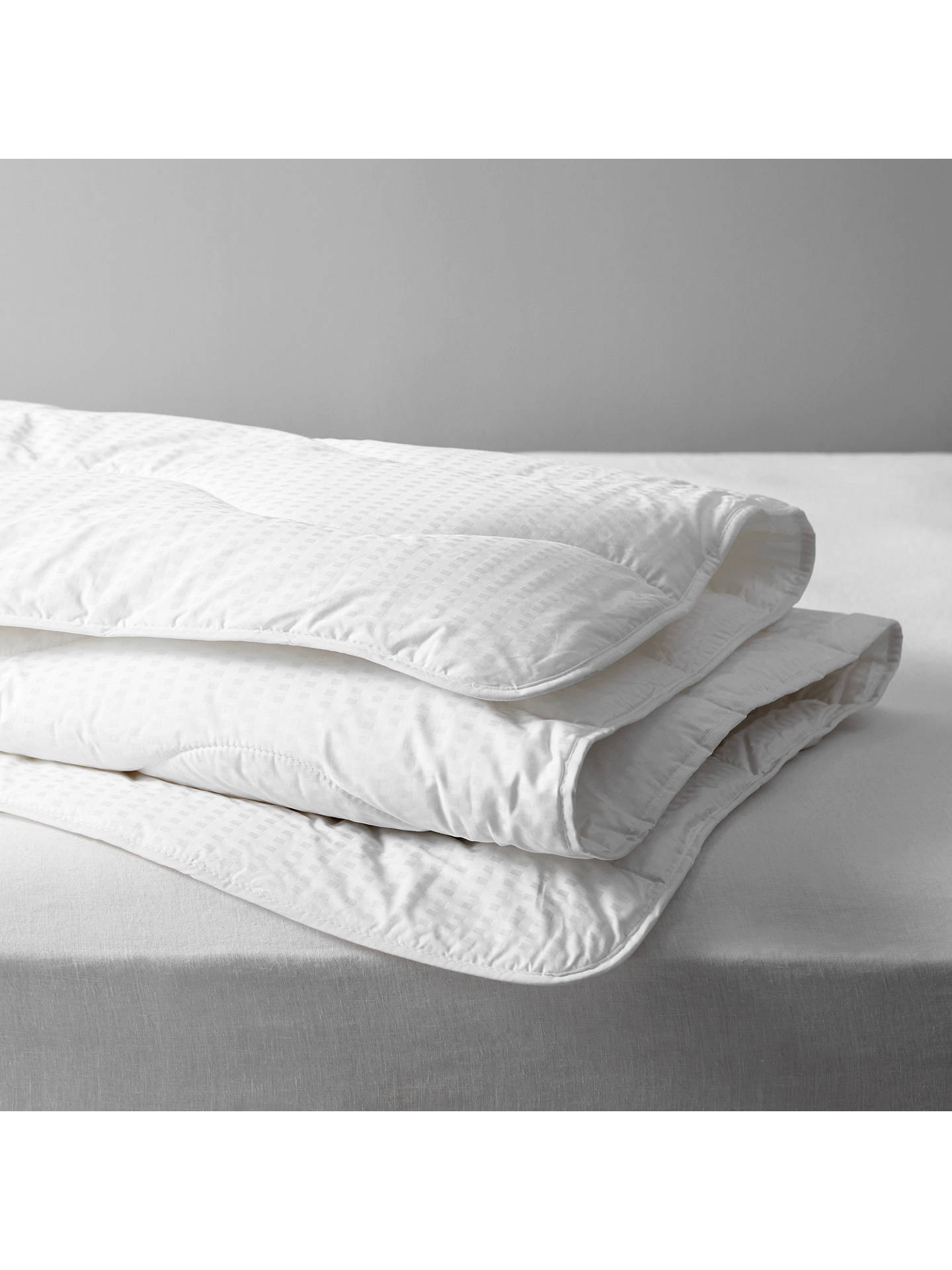 BuyJohn Lewis & Partners Synthetic Collection Breathable Microfibre Duvet, 4.5 Tog, Single Online at johnlewis.com