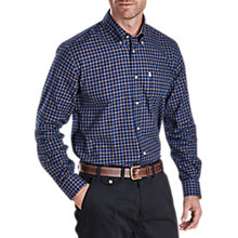 Buy Barbour Bank Check Shirt, Navy Online at johnlewis.com