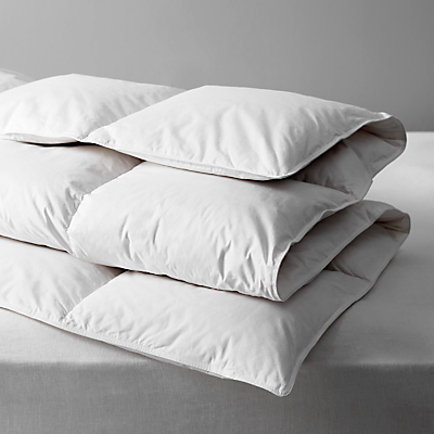 John Lewis Natural Duck Feather and Down Duvet, 13.5 Tog