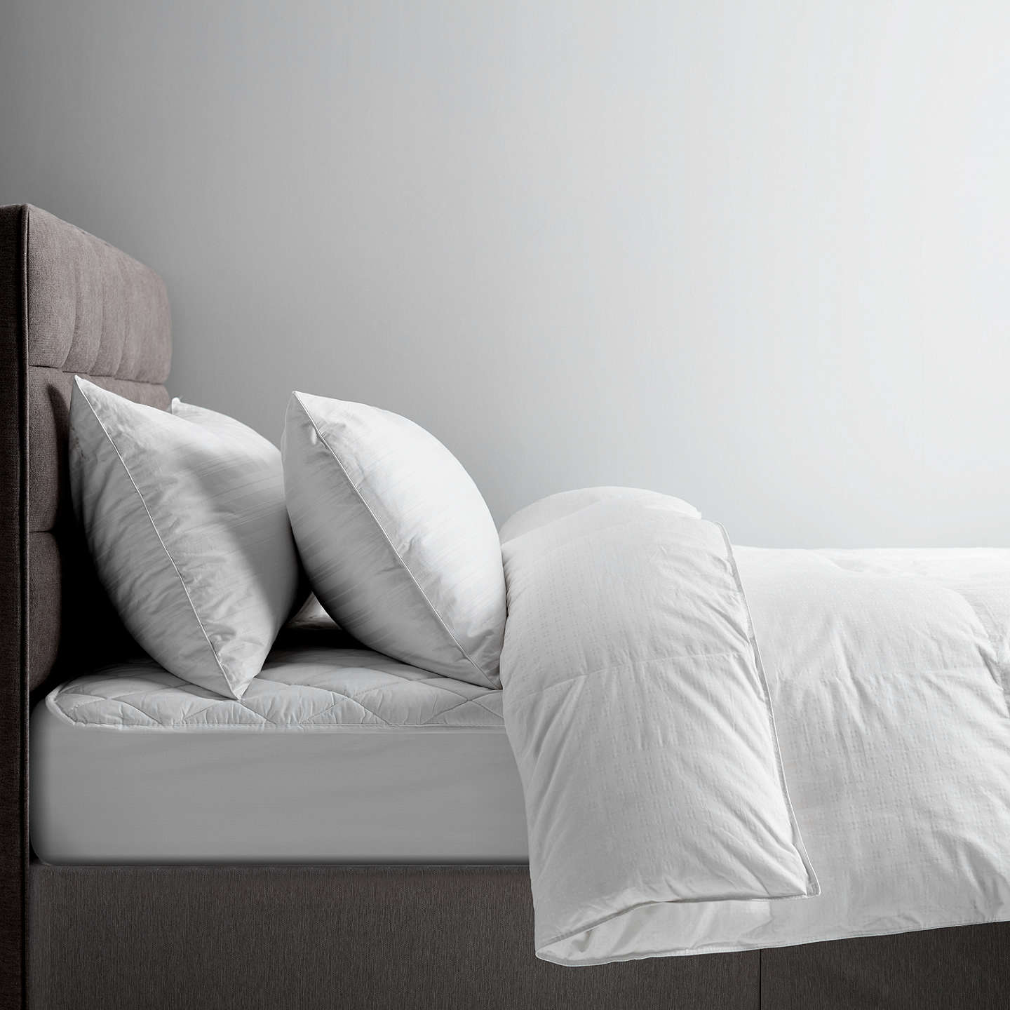 BuyJohn Lewis Natural Collection Siberian Goose Down Duvet, 10.5 Tog, Double Online at johnlewis.com