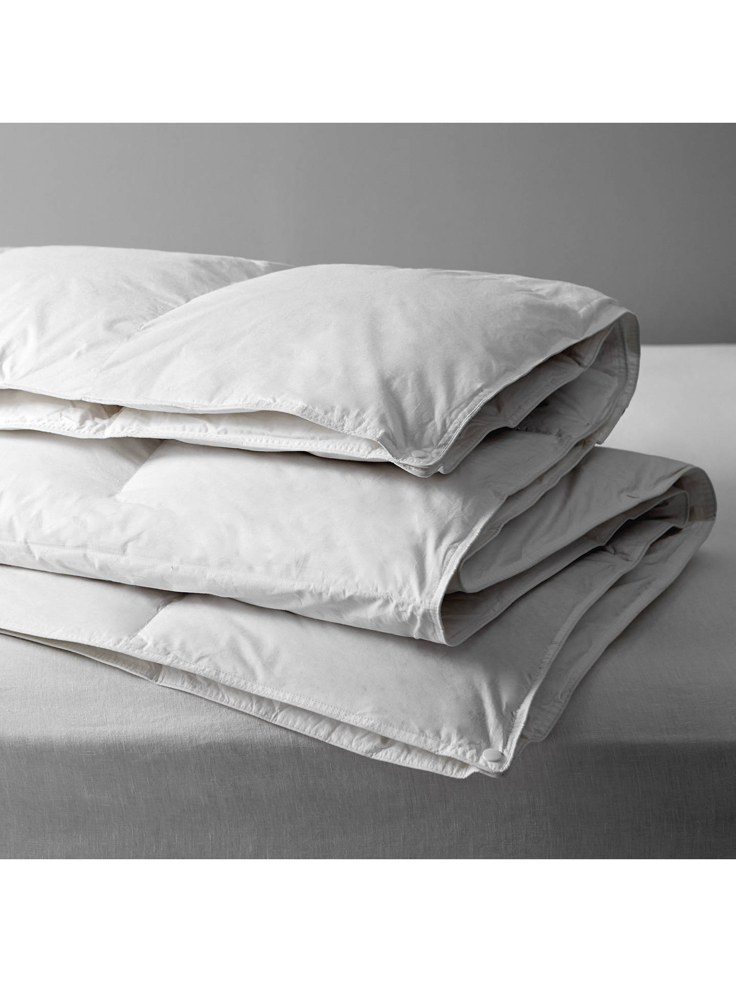 John Lewis & Partners Natural Duck Feather And Down Duvet, 13.5 Tog (4.5 + 9 Tog) All Seasons by John Lewis & Partners