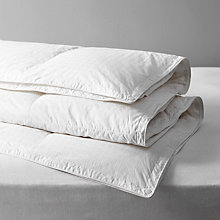 Buy John Lewis Natural Collection Siberian Goose Down Duvet, 10.5 Tog (3.5 + 7 Tog) All Seasons Online at johnlewis.com