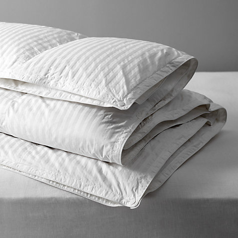 Buy John Lewis Luxury Hungarian Goose Down Duvet, 13.5 Tog (9 + 4.5 Tog) All Seasons Online at johnlewis.com