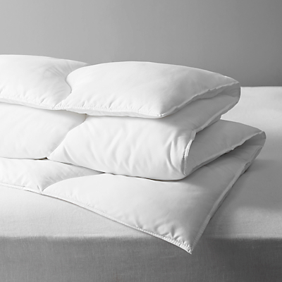 John Lewis Synthetic Soft Touch Washable Duvet, 13.5 Tog
