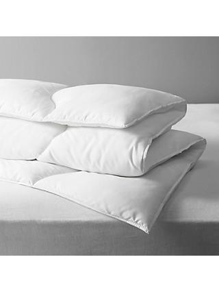 John Lewis & Partners Synthetic Soft Touch Washable Duvet, 10.5 Tog