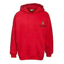 Buy St Joseph's College Unisex Hooded Sweatshirt, Red Online at johnlewis.com