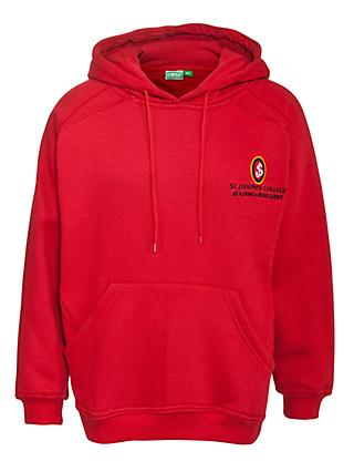 St Joseph's College Unisex Hooded Sweatshirt, Red