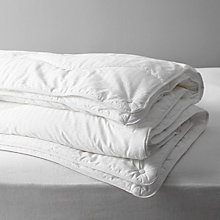 Buy John Lewis Synthetic Collection Breathable Microfibre Duvet, 13.5 Tog (9 + 4.5 Tog) All Seasons Online at johnlewis.com