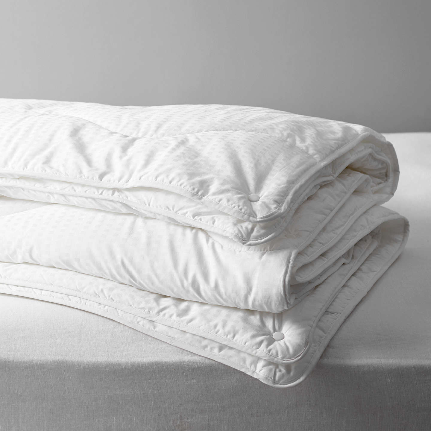 John Lewis Synthetic Collection Breathable Microfibre Duvet 13 5 Tog 9 4