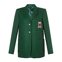 Buy Moorfield School Unisex Blazer, Bottle Green Online at johnlewis.com