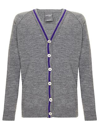 School Girls' Cardigan, Grey