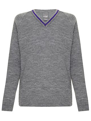 School Boys' Jumper, Grey