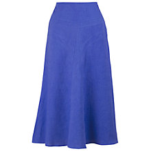 Buy Chesca Linen Skirt, Blue Online at johnlewis.com